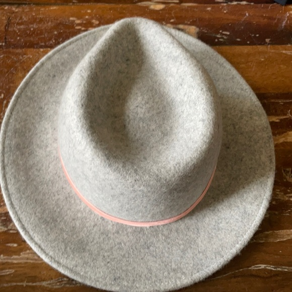 JCREW wool hat with grosgrain trim